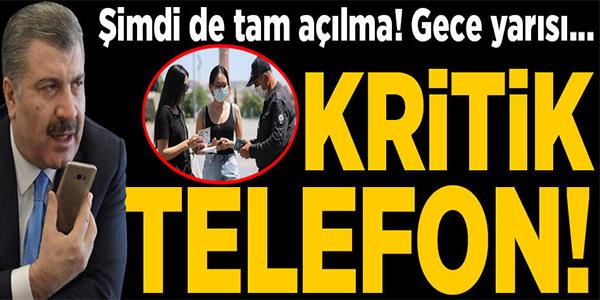FAHRETTİN KOCA'DAN GECE YARISI KRİTİK TELEFON GÖRÜŞMESİ!