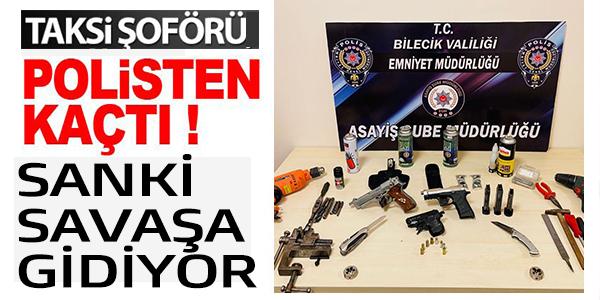 POLİSTEN KAÇAN ŞAHSIN ÜZERİNDEN VE ÇANTASINDAN ÇIKANLAR ŞOK ETTİ