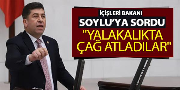 """MİLLETVEKİLİ TÜZÜN, """"YALAKALIKTA ÇAĞ ATLADILAR"""""""