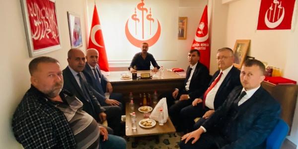 KOCAELİ'DE YAŞAYAN BİLECİKLİLER'DEN BBP'YE ZİYARET