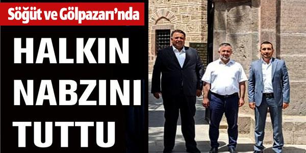 AK PARTİ MARMARA BÖLGE KOORDİNATÖRÜ KAYA'DAN BİLECİK TEMASLARI