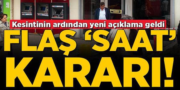 AKBANK'TAN KESİNTİ SONRASI FLAŞ MESAİ SAATİ KARARI!