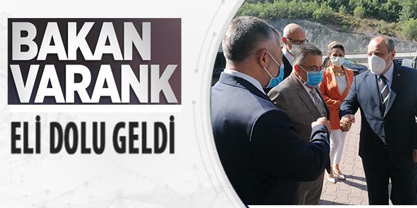BAKAN VARANK, BİLECİK'E GELDİ