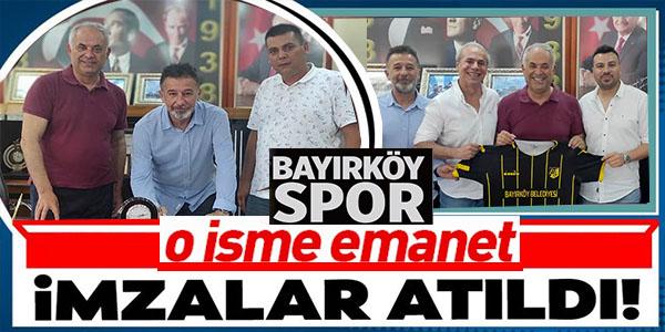 BAYIRKÖYSPOR, YILMAZ AYTEN'E EMANET