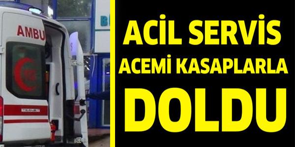 BİLECİK'TE HASTANELER YİNE ACEMİ KASAPLARLA DOLDU