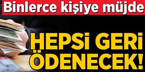 GERİ ÖDENMEK ZORUNDA! FAİZSİZ KONUT VE ARAÇ...