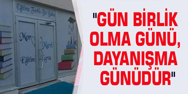 MOR MAVİ EĞİTİM KURUMLARI'NDAN MANAVGAT'A YARDIM KAMPANYASI