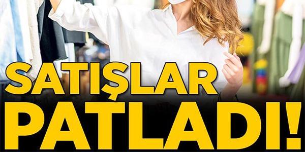'UZUN TATİL'DE ALIŞVERİŞ REKORU