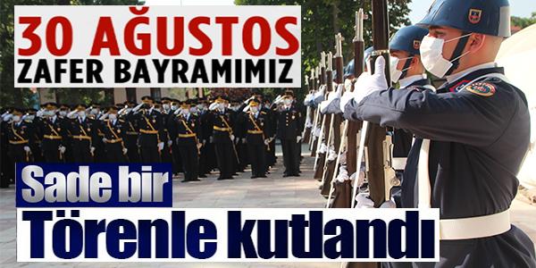 BİLECİK'TE 30 AĞUSTOS ZAFER BAYRAMI KUTLANDI