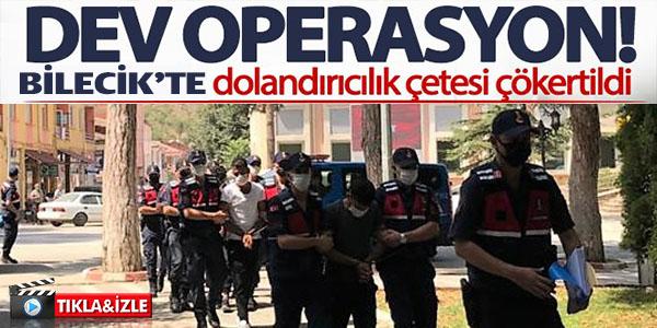 BİLECİK'TE DOLANDIRDILAR, İSTANBUL'DA YAKALANDILAR
