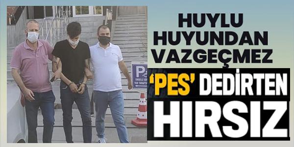 PES DEDİRTEN HIRSIZ