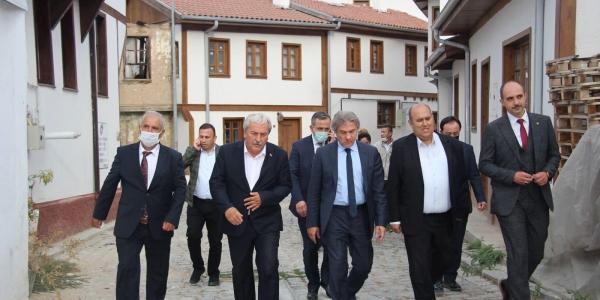 BAKAN YARDIMCISI DEMİRCAN'DAN DESTEK SÖZÜ