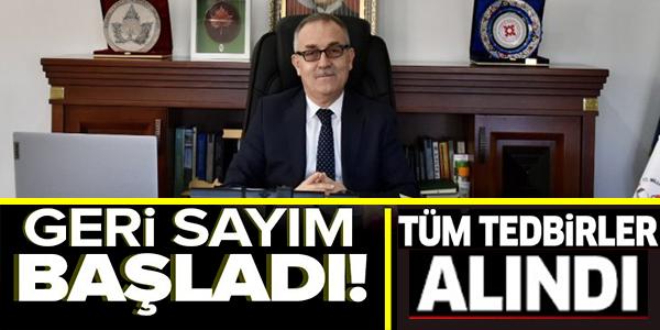 GERİ SAYIM BAŞLADI