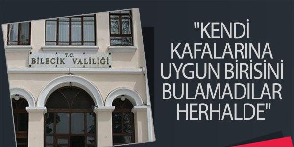 """KENDİ KAFALARINA UYGUN BİRİSİNİ BULAMADILAR HERHALDE"""