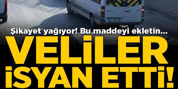 VELİLER İSYAN ETTİ! OKUL SERVİSİNE 'GİZLİ ZAM'