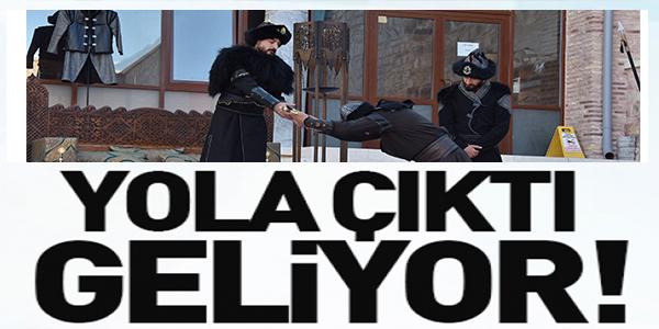 YOLA ÇIKTI GELİYOR