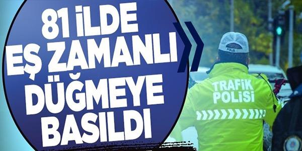 81 İLDE EŞ ZAMANLI DÜĞMEYE BASILDI