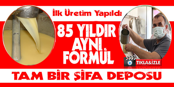 85 YILDIR AYNI FORMUL