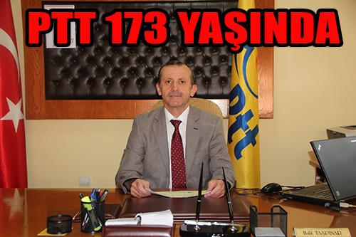 PTT 173 YAŞINDA !