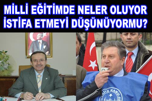 MİLLİ EĞİTİMDE KAZANLAR KAYNIYOR.