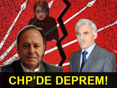 CHP'DE DEPREM