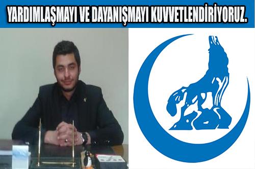 Ülkü Ocakları Eğitim ve Kültür Vakfı Bilecik Ülkü Ocaklarından Destek..