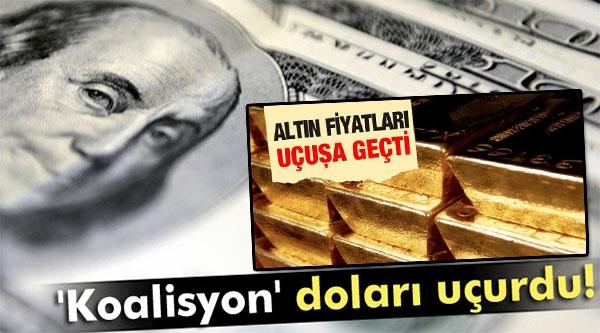 ALTIN, EURO VE DOLAR TAVAN YAPTI