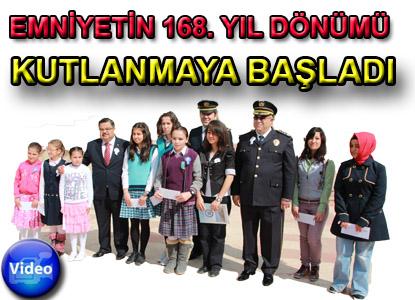 EMNİYETİN 168. YIL DöNÜMÜ KUTLAMASI