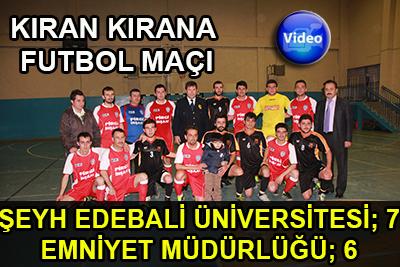 07-06 Üniversiteli Futbol Takımı Maçı Kazandı!