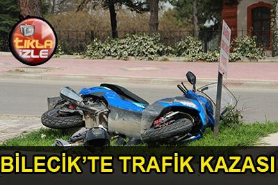 Biilecik'te Trafik Kazası