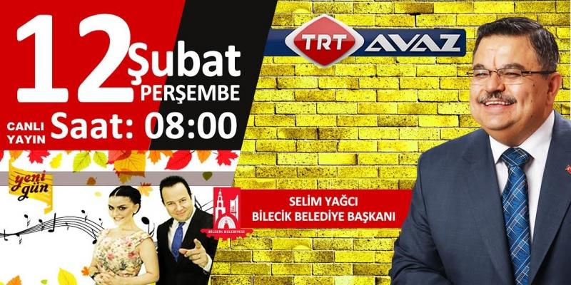 BAŞKAN YAĞCI TRT AVAZ TV'DE