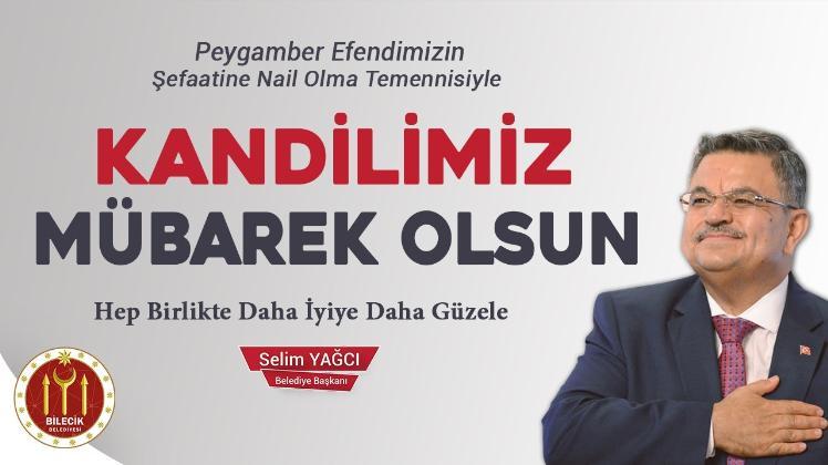 BAŞKAN YAĞCI'NIN 'MEVLİD KANDİLİ' MESAJI