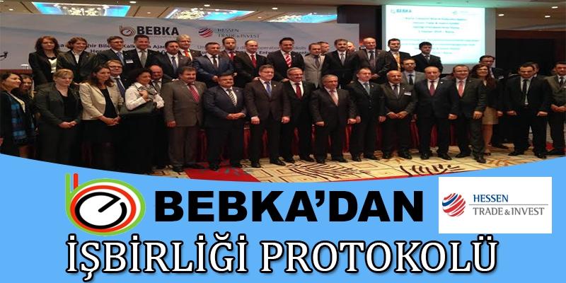 BEBKA'DAN İŞBİRLİĞİ PROTOKOLÜ