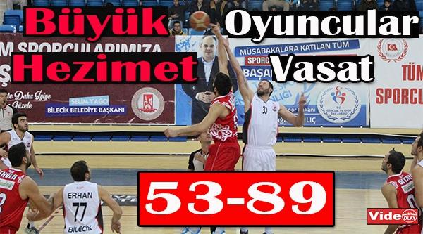 Bilecik Belediyesi Basketbol Kulübü: 53 - Karesispor: 89
