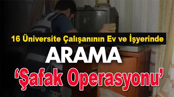 BİLECİK EMNİYETİNDEN 'ŞAFAK OPERASYONU'
