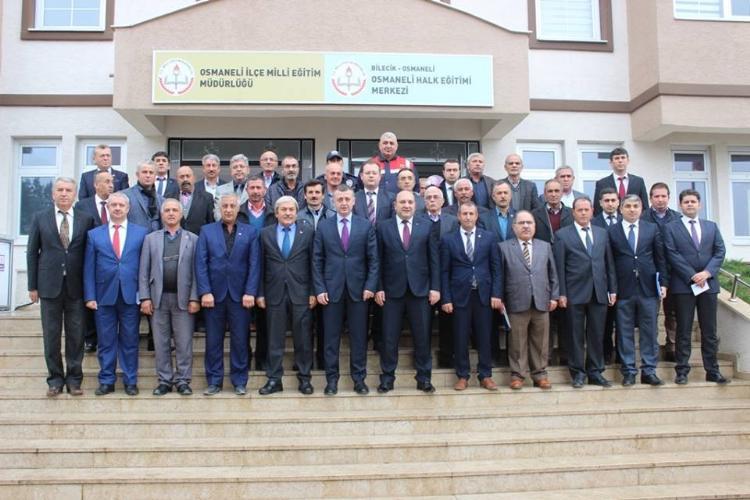 BİLECİK VALİSİ BÜYÜKAKIN OSMANELİ'DE İNCELEMELERDE BULUNDU