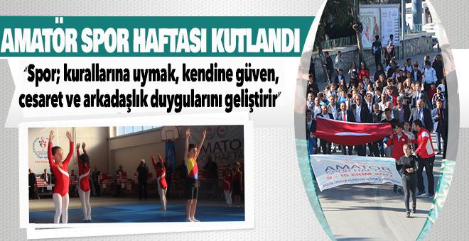 BİLECİK'TE AMATÖR SPOR HAFTASI KUTLANDI