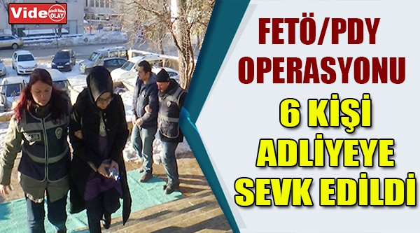BİLECİK'TE FETÖ/PDY OPERASYONU