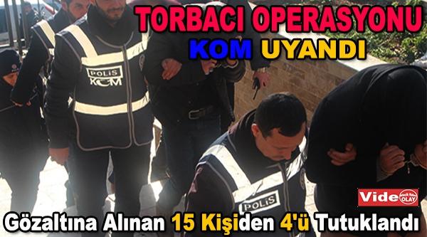 BİLECİK'TE TORBACI OPERASYONU