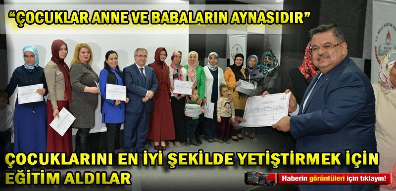 """""""ÇOCUKLAR ANNE VE BABALARIN AYNASIDIR"""""""