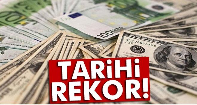 DOLAR VE EURO REKOR TAZELEDİ