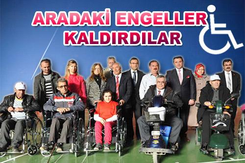 ARADAKİ ENGELLERİ KALDIRDILAR