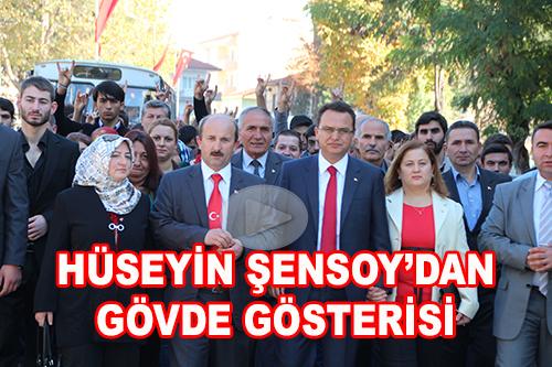 MHP'DEN GöVDE GöSTERİSİ