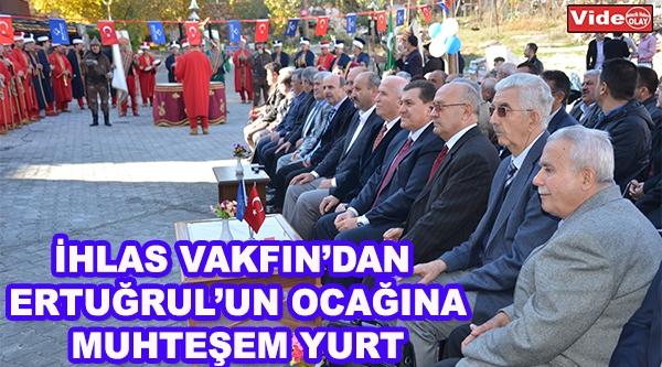 İHLAS VAKFIN'DAN ERTUĞRUL'UN OCAĞINA YURT