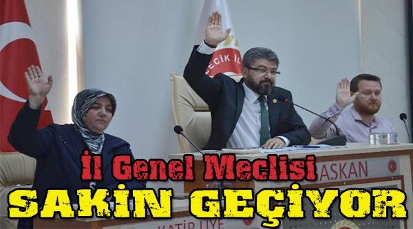 İL GENEL MECLİSİNDE 3 GÜNDEM MADDESİ GÖRÜŞÜLDÜ