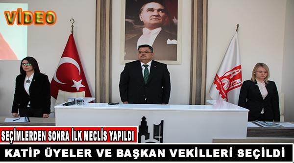 İLK BELEDİYE MECLİS TOPLANTISI YAPILDI.