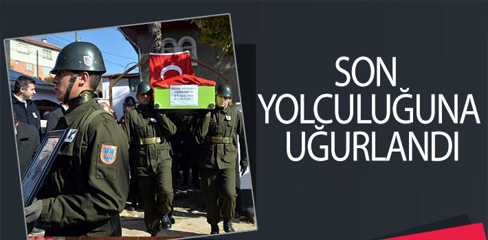 KIBRIS GAZİSİ AVCIOĞLU SON YOLCULUĞUNA UĞURLANDI