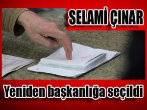Kızılay Bilecik Şube Başkanı Selami Çınar, yeniden başkanlığa seçildi.