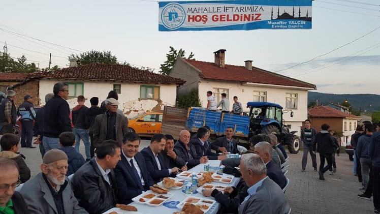 PAZARYERİ'NDE MAHALLE İFTARLARI BAŞLADI