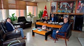 HİZMET- İŞ SENDİKASI'NDAN BAŞKAN YAMAN'A ZİYARET